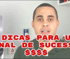 🎥🎉[ 35 MIL INSCRITOS ] 5 dicas para criar um canal no Youtube de sucesso COM RESULTADOS $$$$