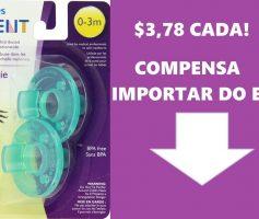 🚼Chupeta calmante Avent Soothie Philips – Importe dos EUA por $3,78